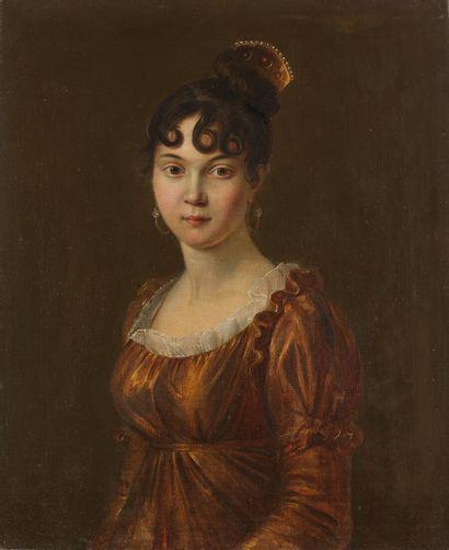 École française vers 1830.  Portrait présumé...