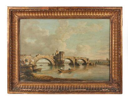 William MARLOW (1740-1813).  Avignon, le...