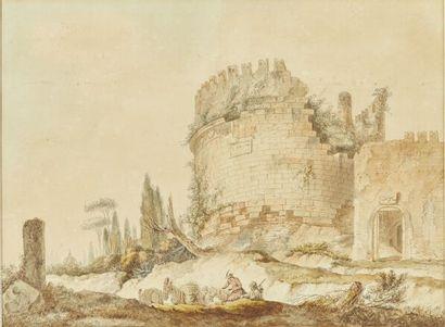 Attribué à Thomas de THOMON (Berne 1760-Saint-Petersbourg...