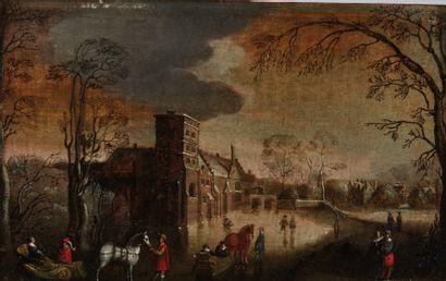 École allemande du XVIIe siècle, suiveur...