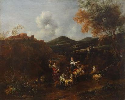 Johannes Van DER BENT (1650-vers 1690)  La...