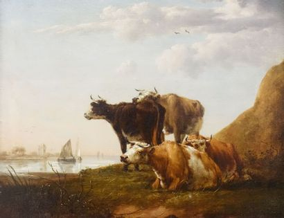 École hollandaise du XIXe siècle, suiveur...