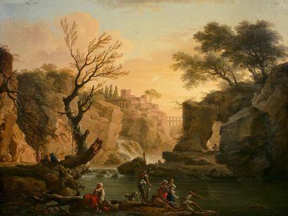 Claude Joseph VERNET (Avignon 1714-Paris...