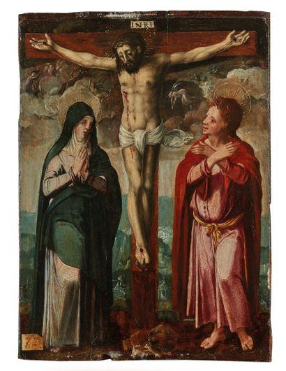 École hispano-flamande vers 1600  Christ...