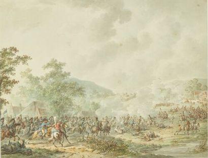Dirk LANGENDYK (Rotterdam 1748-1805)  Choc...