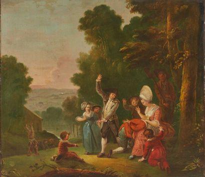 Attribué à Jan Antoon GAREMYN (1712-1799)...