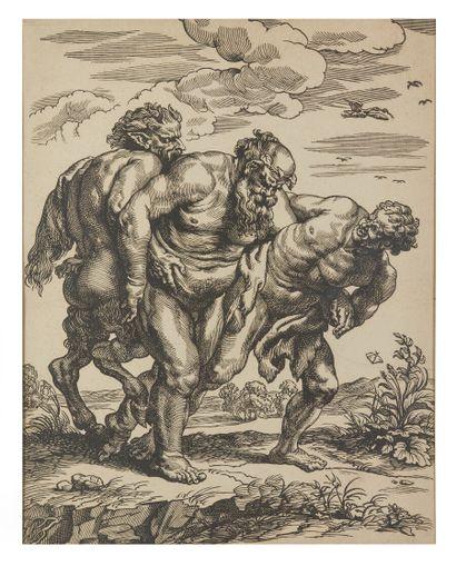 Christoffel JAEGER (c. 1596-c. 1652)  Silène...