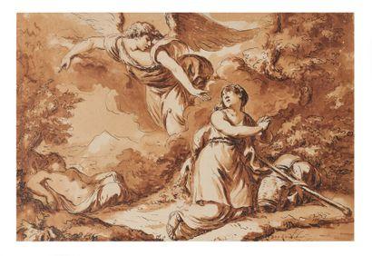 Attribué à Pierre LELU (Paris 1741-1810)...