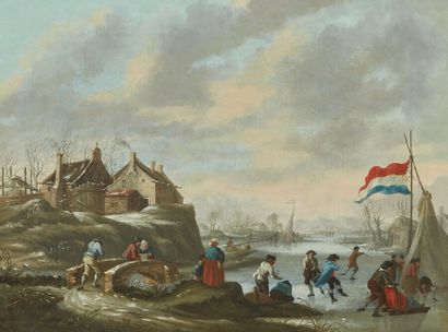 Attribué à Johann Daniel DE GIJZELAAR (1746-1829)...