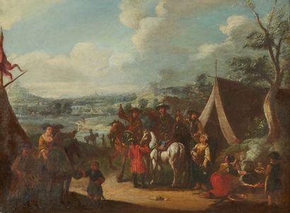 École hollandaise vers 1700, suiveur de WOUVERMANS...