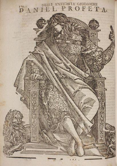 FLAVIUS JOSÈPHE. Delle antichità e guerre...