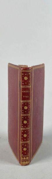 ETAT DE LA MARINE années 1782. Paris, (1782)...