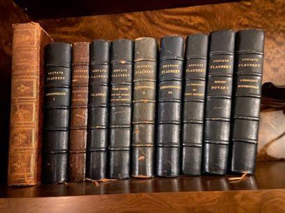 Lot de livres reliés comprenant notamment...
