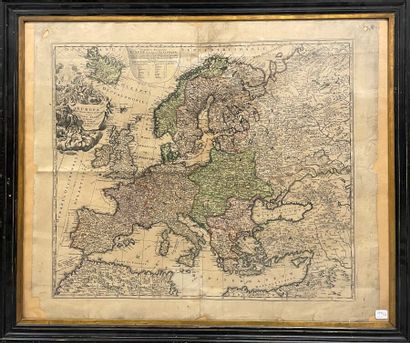 Carte de l'Europe  (Accidents et manques.)...