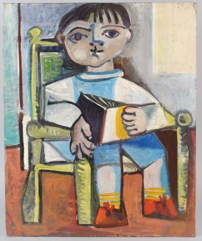 Carlos CARNERO (1922-1980)  G13 - Enfant...