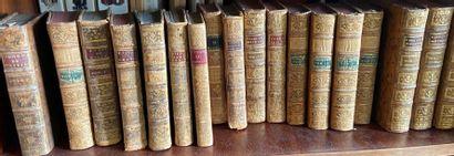 Lot de livres reliés
