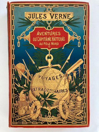 JULES VERNE. HETZEL  Voyages extraordinaires...