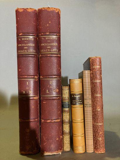 Lot de livres comprenant :  - Hourticq, Encyclopédie...