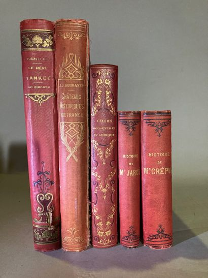 Lot de cinq livres comprenant :  - L'abbé...