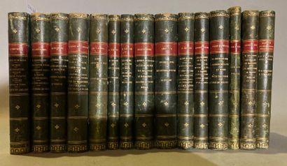 Suite de 15 livres comprenant :  - Le Grand...