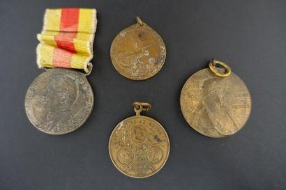ALLEMAGNE  Sept médailles dont médaille de...