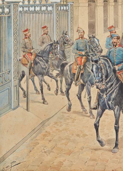 Jacques ONFROY DE BÉVILLE, dit JOB (1858-1931)...