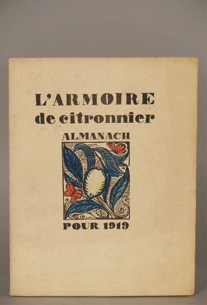 ARMOIRE DE CITRONNIER, L' Almanach pour 1919....