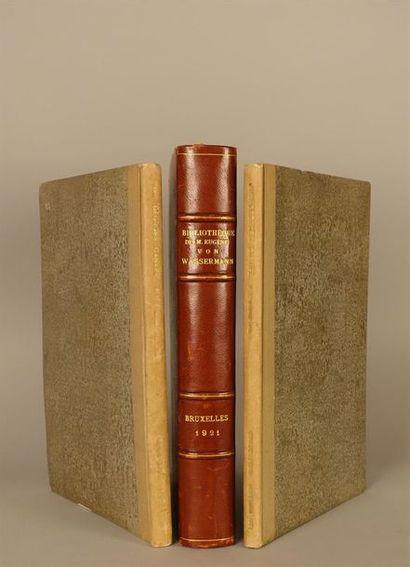 BIBLIOGRAPHIE.- Bibliothèque de M. Georges...