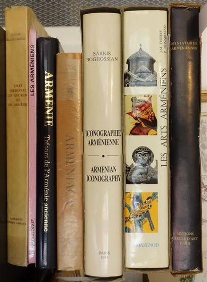 ARMÉNIE. Réunion de sept ouvrages. BALTRUSAITIS...
