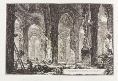Giambattista Piranesi (1720-1778) Elevazione...