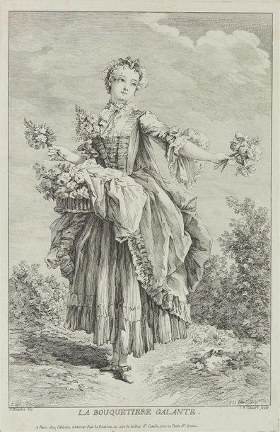 François Boucher (1703-1770) (d'après) La...