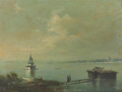 Attribué à Mekertich GIVANIAN (1848-1906)...