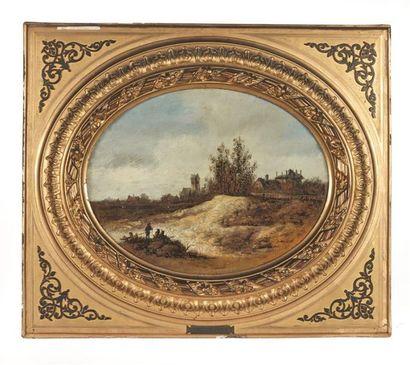 Dans le goût de Jan VAN GOYEN (1596-1656)...