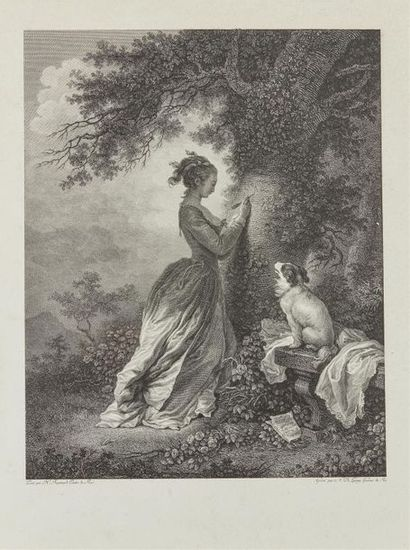 Jean-Honoré Fragonard (1732-1806) (d'après)...