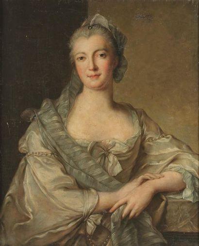 École française vers 1740, suiveur de Jean-Marc...