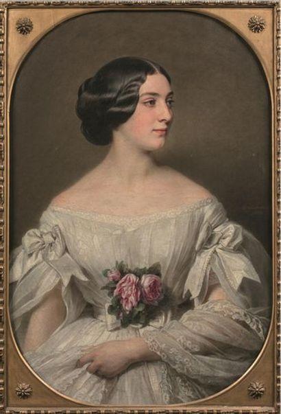 Hermann WINTERHALTER (1808-1891). Portrait...