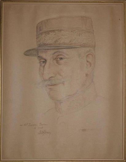 François de HÉRAIN (1877-1962). Portrait...