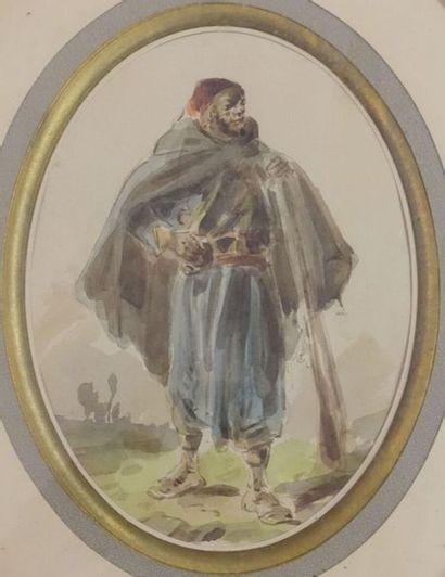 DUPENDANT (Circ. 1835-?). Tirailleur sénégalais....