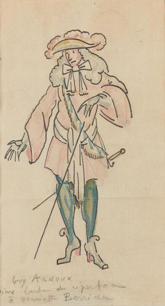 Guy ARNOUX (1886-1951). Vieux barbon du répertoire...