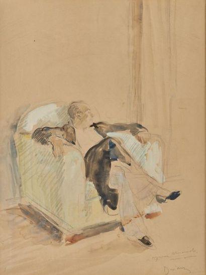 Étienne DRIAN (1885-1961). Portrait d'Yves...