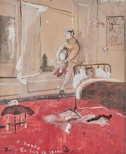 Christian BÉRARD (1902-1949). La Chambre...