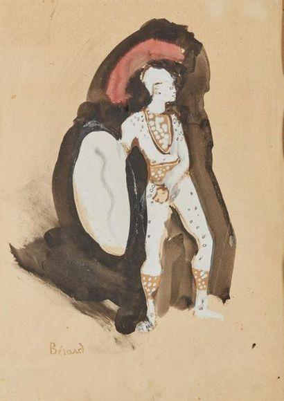 Christian BÉRARD (1902-1949). Projet de costume...