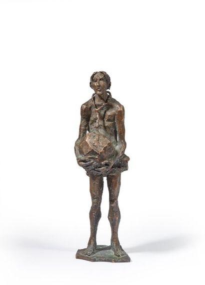 École Française du XXe siècle. Sisyphe portant...