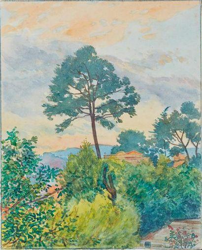 Tony MINARTZ (1870-1944). Parcs et jardins...