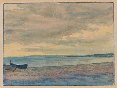 Tony MINARTZ (1870-1944). Barques sur la...