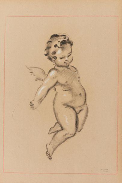 Tony MINARTZ (1870-1944). Études d'angelots...