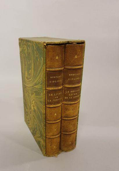 *R. KIPLING, The Jungle Book, 12 engravings...
