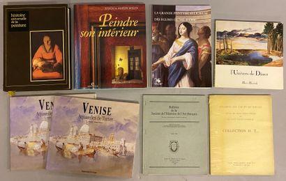 ART - PAINTINGS-DESSINS] 8 vols.  - Venice,...