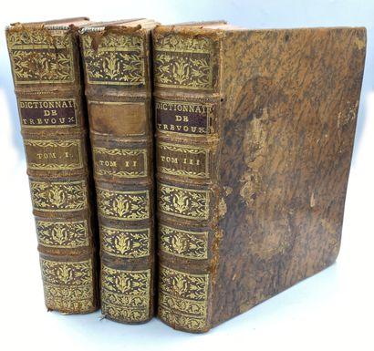 TREVOUX] 3 vols.  Abrégé du dictionnaire...
