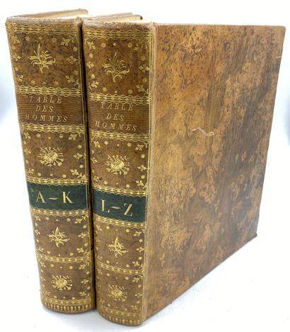 [FRENCH HISTORY-REVOLUTION] 2 vols  FRENCH...